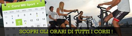 Orari dei corsi MB Sport Garda